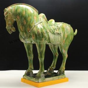 洛阳唐三彩绿野仙踪中国马