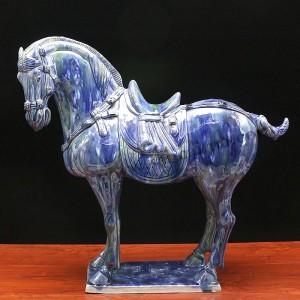 洛阳唐三彩-踏雪寻梅中国马