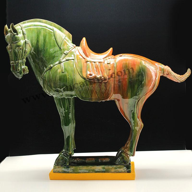 唐三彩马的象征意义!