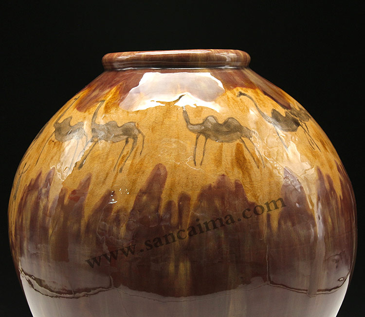 客户定做-仿制陶瓷罐工艺品